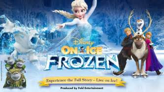 Frozen On Disney On Presents Frozen Experience The Story