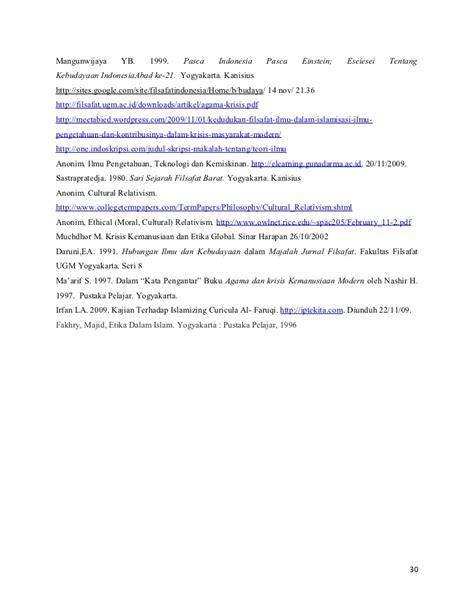 Sari Sejarah Filsafat Barat Harun Hadiwijono tantangan dan masa depan ilmu
