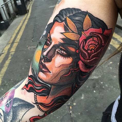 simple neo traditional tattoo 17 best images about neotraditional tattoos on pinterest