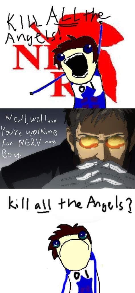 Evangelion Meme - evangelion crack meme comic by phantomkino on deviantart