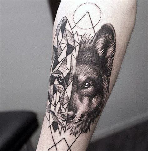 wolf forearm tattoo the 85 best wolf tattoos for improb