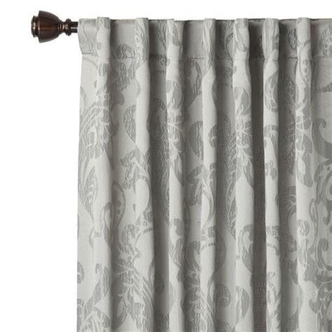 washable drapes new fieldcrest luxury gray ogee window panel curtain drape