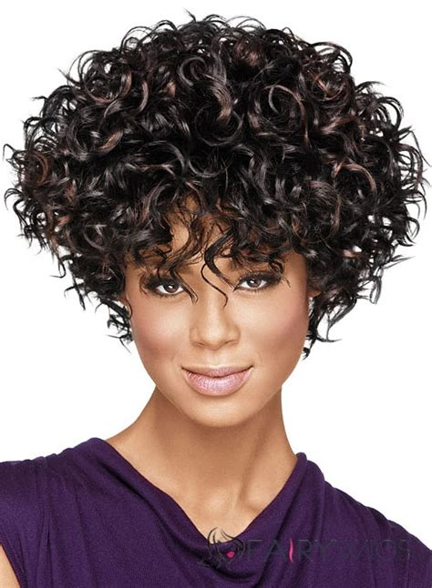african american human wigs for women chic short curly sepia african american wigs for women 10