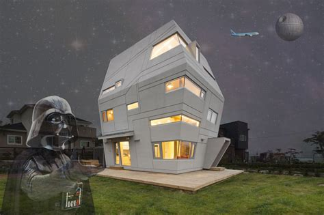 star wars house starwars house by moon hoon lands on suburban korean site