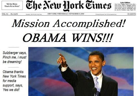 new york times obama nov 5 new york times front page leaked
