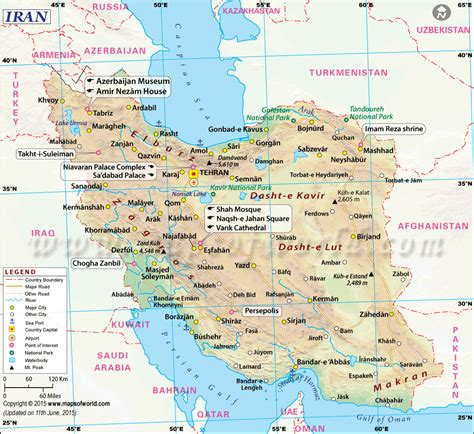 map of iran cities map of iran iran map