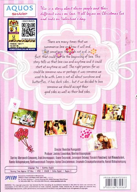 film thailand valentine sweety bangkok sweety valentine dvd thai movie 2012 cast by