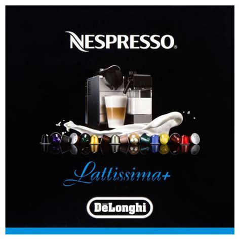 DeLonghi Nespresso Lattissima Plus EN520B Black Coffee