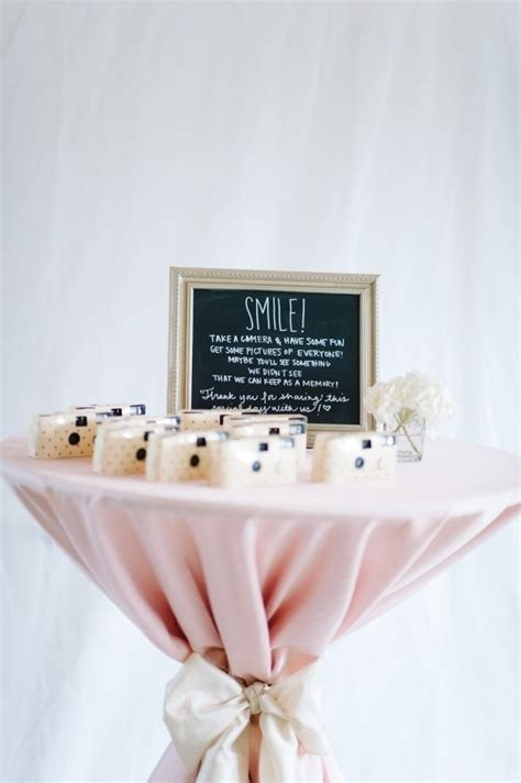 25  best ideas about Disposable camera wedding on