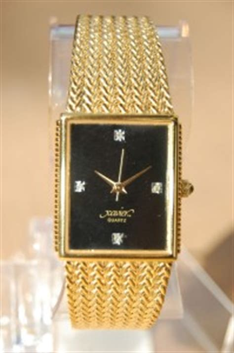 cso xavier quartz wrist gold band ebay
