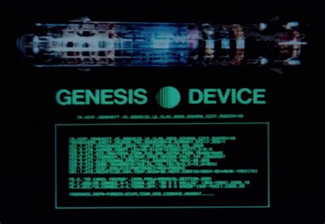 The Project Genesis trek were the project genesis summary animations