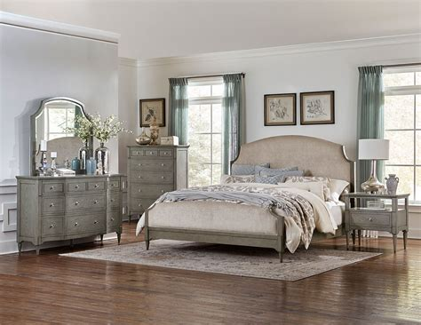homelegance albright upholstered bedroom set barnwood