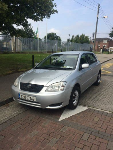 2002 Toyota Corolla Mpg 2002 Toyota Corolla For Sale In Donaghmede Dublin From