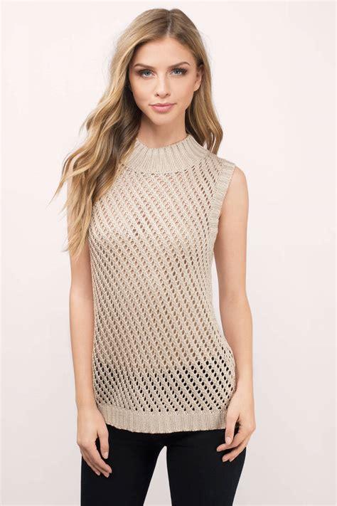 Skl2 39 S Sleeveless Cardigan toast sweater beige sweater sleeveless sweater 29 00