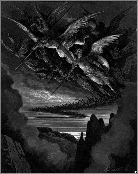 Paul Gustave Doré, Paradise Lost - The fallen Angels