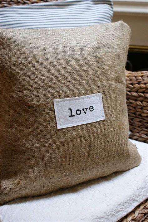 burlap couch covers 37 best grain sack pillows images on pinterest grain