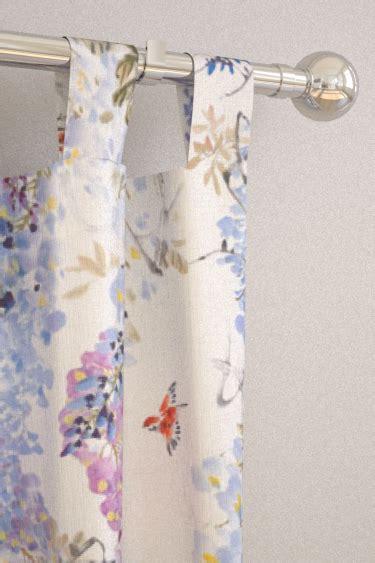 drapery falls tab wisteria falls amethyst tab top curtains by sanderson