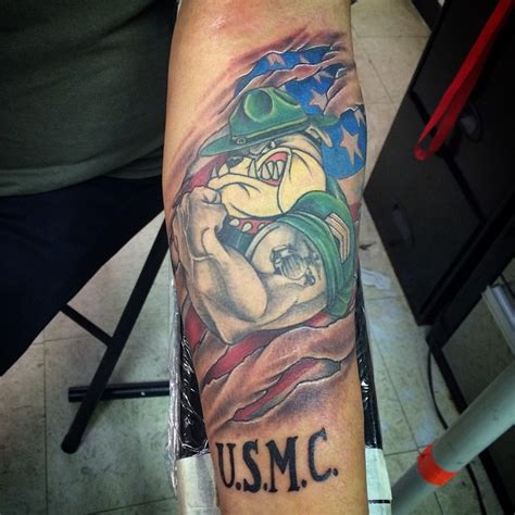 usmc tattoo policy quarter sleeve 25 cool usmc tattoos meaning policy and designs