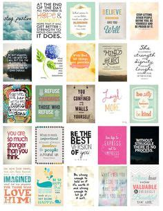 printable mini quotes free download motivational printable stickers for your