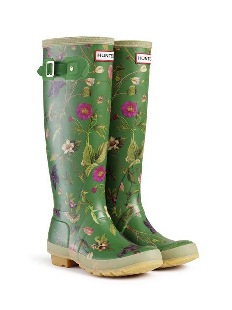 hunter garden boots
