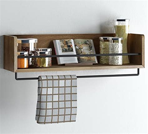 kitchen wall shelf artifactdesign shelves floatg rustic wood kitchen wall