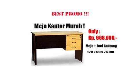 Meja Kantor Uno Classic Tanpa Laci Lebih Murah meja kantor murah satu harga sudah dapat meja uk 120 x 60