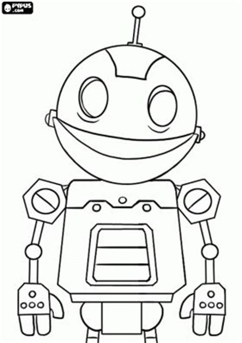 images  robot coloring pages  pinterest