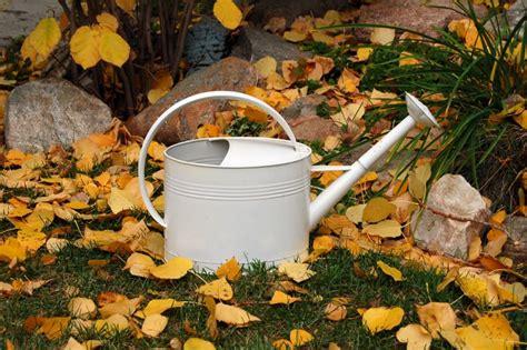 giardino autunno lavori giardino autunno non sprecare