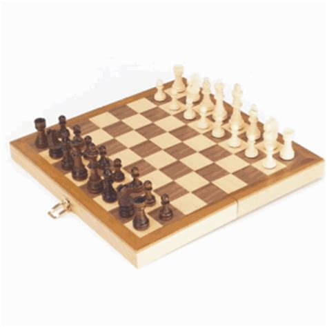 wooden chess set wooden chess set new chess set in a wooden hinged ebay