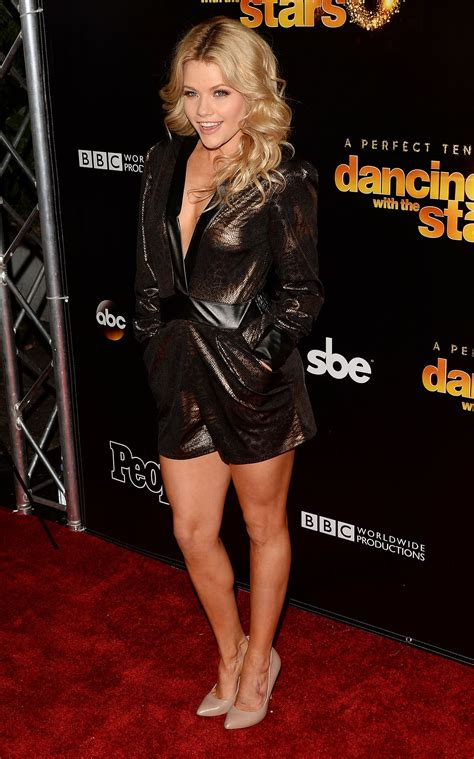 witney carson dancing with the stars 10th anniversary in west witney carson at dancing with the stars 10th anniversary