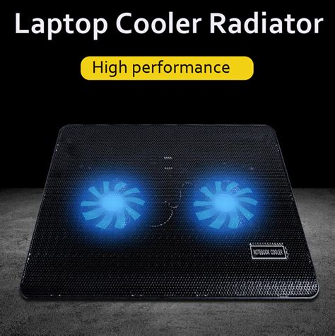 Laptop Notebook Cooling Cooler Pad 4 Fan Is428 2 fans led usb cooling pad adjustable cooler for laptop notebook macbook