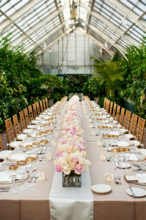 inspired wedding table and decor