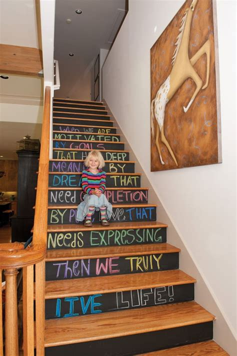 Decorative Stair Risers by Decorative Stair Risers With Designs For All Tastes
