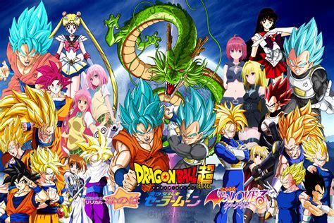 dragon ball z team wallpaper team goku vs team vegeta crossover by dbzandsm on deviantart