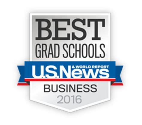 Us Mba School Rankings 2016 by U S News Best Business Schools Rankings 2016 北美mba申请区