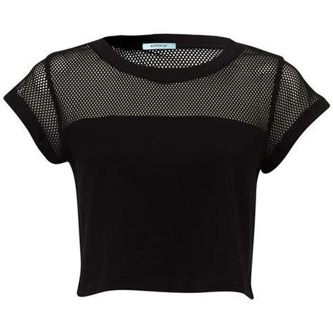 Schwarze Decke by Cancun Crop Shirt And Crop Tops On