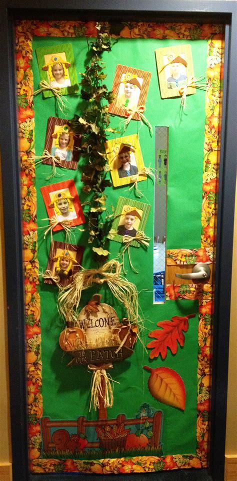 fall themed classroom door decorations decorating classroom doors teachinghelp org
