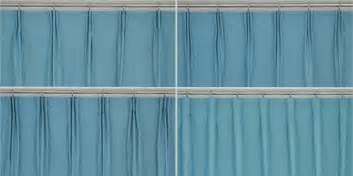 different drapery pleat styles curtain heading style custom curtains drapes draperies