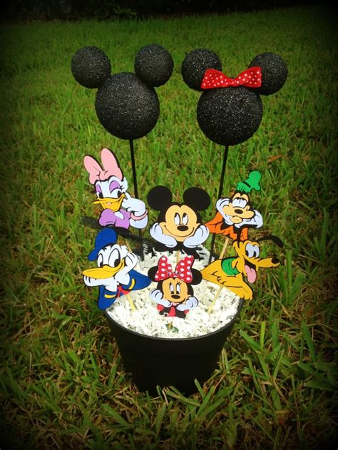 mickey mouse clubhouse centerpiece ideas mickey mouse clubhouse centerpiece ideas
