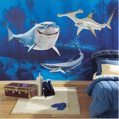 modern shark bedroom theme design and decor ideas for