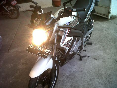 Stang Jepit Bison new vixion pake stang bison thecitycyclist