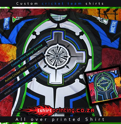 The A Team 04 T Shirt cool cricket shirt idea