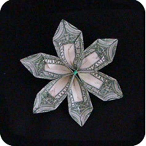 Origami Flower Dollar - dollar bill origami make origami