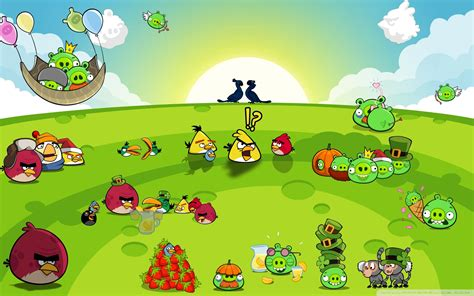 wallpaper with game birds angry birds game hd wallpaper mytechshout blogging