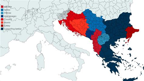 balkan states map new western balkan war new maps
