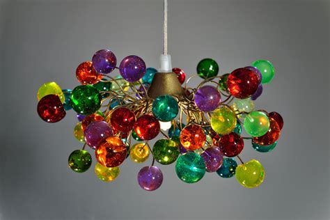 Colorful Light Fixtures 15 Incredibly Colorful Handmade Ceiling L Designs Style Motivation