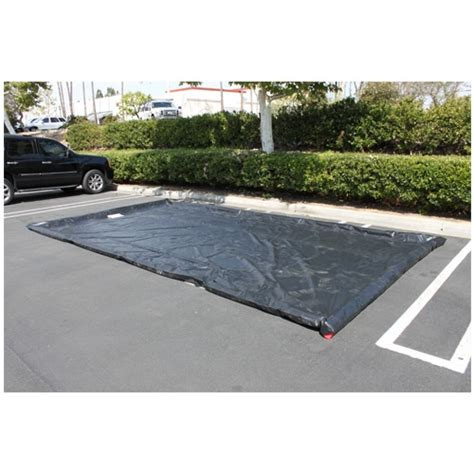 10 water mats husky duty water containment mat black 10 ft x