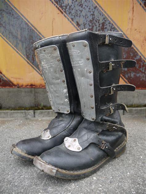 vintage motocross boots alpinestars hi point vintage motocross boots sixhelmets