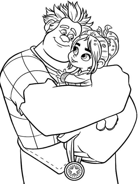 www coloring wreck it ralph coloring pages free printable wreck it