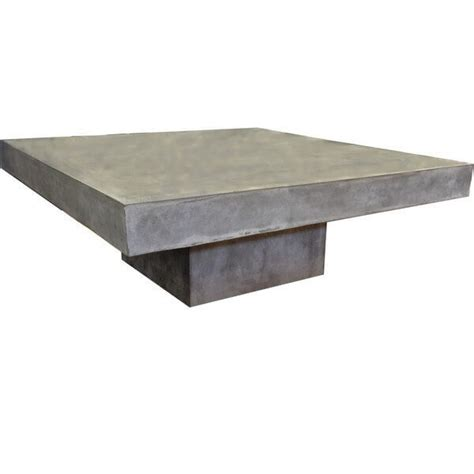 table basse beton cire mobilier beton table basse repas beton banc console